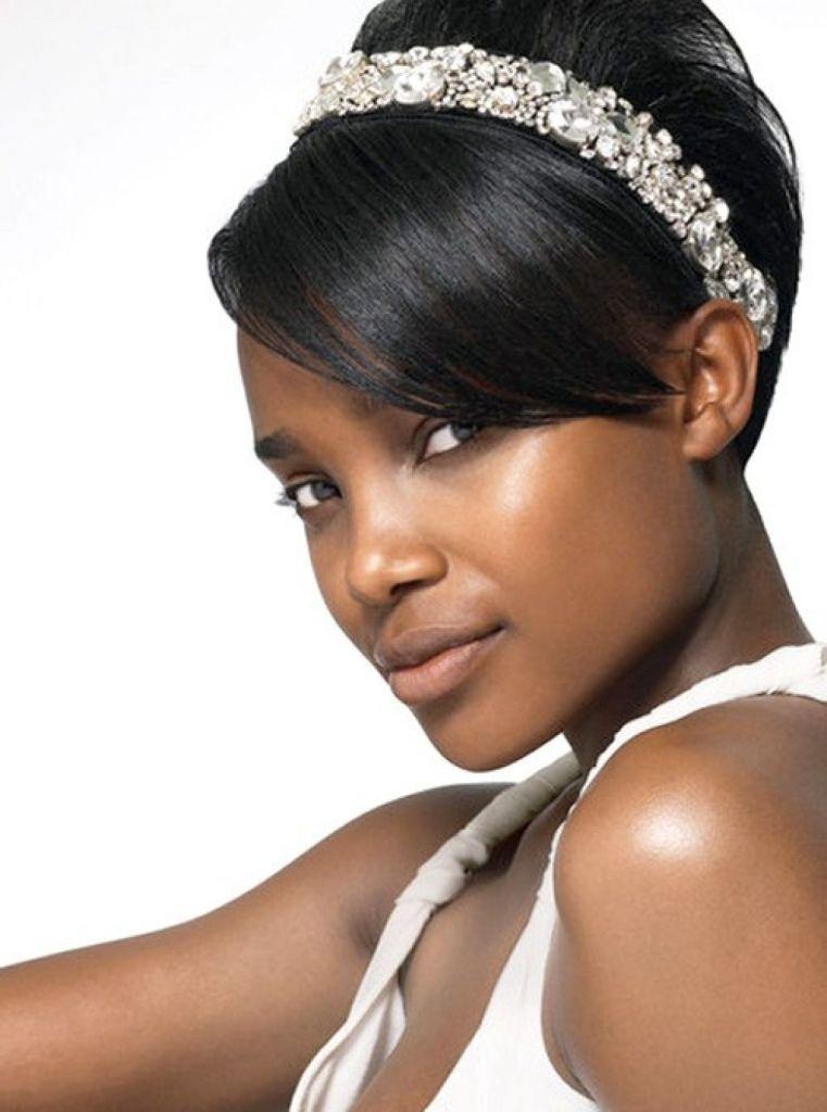 black-women-short-hair-wedding-hairstyles-55ecf2050c7b0